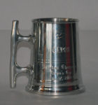 A Typical Muggers Cup Trophy - Given to Sailors Winning Their First Official Race