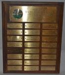 Men's Golf Championship - Low Gross, Second Plaque