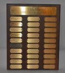 Men's Golf Championship - Low Net, Second Plaque