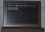 Women's Butterfly Anniversary Plaque
