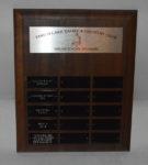 Opti - Pram Champ Trophy - TLYCC Sailing School Sponsors Plague
